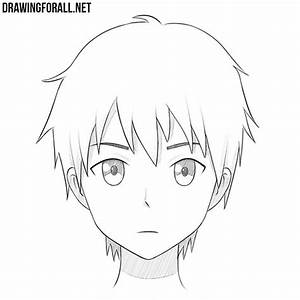 How to Draw an Anime Face | Drawingforall.net