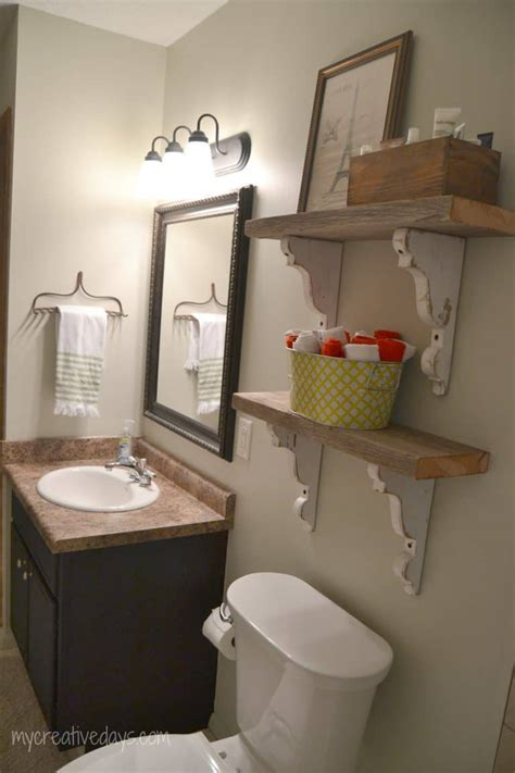 bathroom makeover    creative days