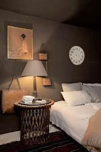 chambre taupe avec couleur lin pour oreiller et abat jour With carrelage adhesif salle de bain avec ampoule led lumiere du jour