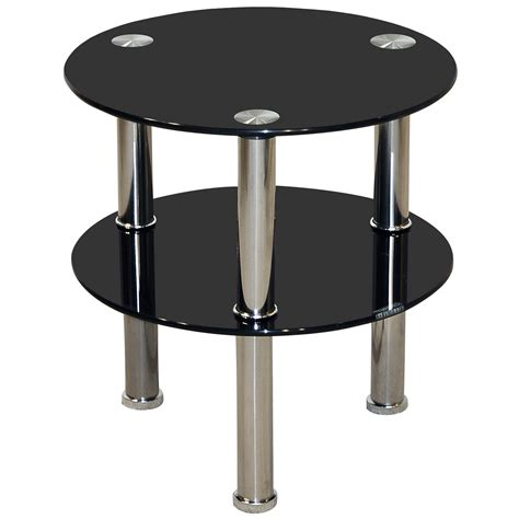 small side coffee tables chrome glass round end l small side coffee table