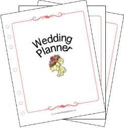 free wedding planner wedding planner collection