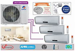 Manual And Guide For Gree Tri Zone Multi30hp230v1co