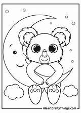 Koalas Slumber Iheartcraftythings sketch template