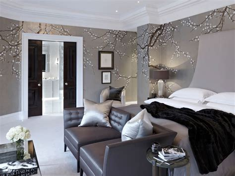 Bedroom Wallpaper Country by Country House Louise Bradley Bedroom Modern
