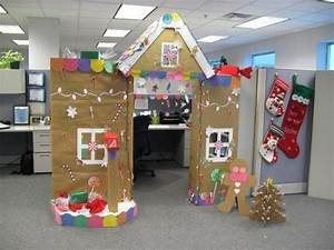 christmas cubicle decoration with mailbox for letters to With letters to santa decoration