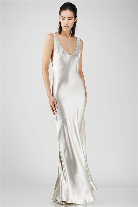 foto de Galvan Slip Dress $1 325 USD from Opening Ceremony Slip