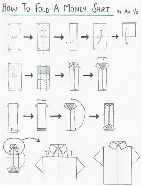fold origami shirt  origami tie origami paper