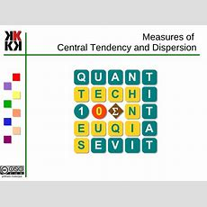 Qt1  03  Measures Of Central Tendency