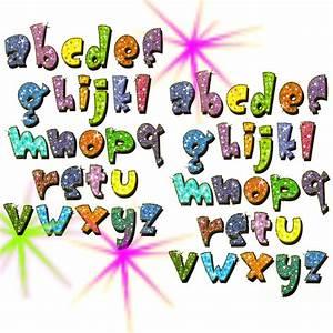 Buchstaben Zum Aufkleben : abc buchstaben tattoo set mit glitzereffekt 52 stk kinder ~ Watch28wear.com Haus und Dekorationen