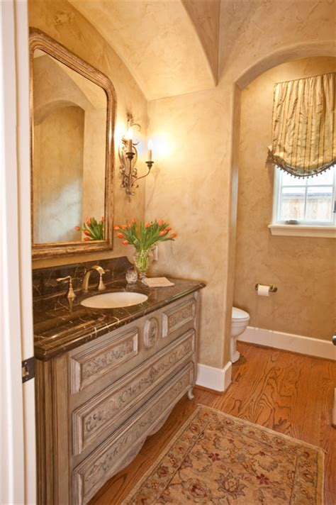 french country traditional bathroom houston