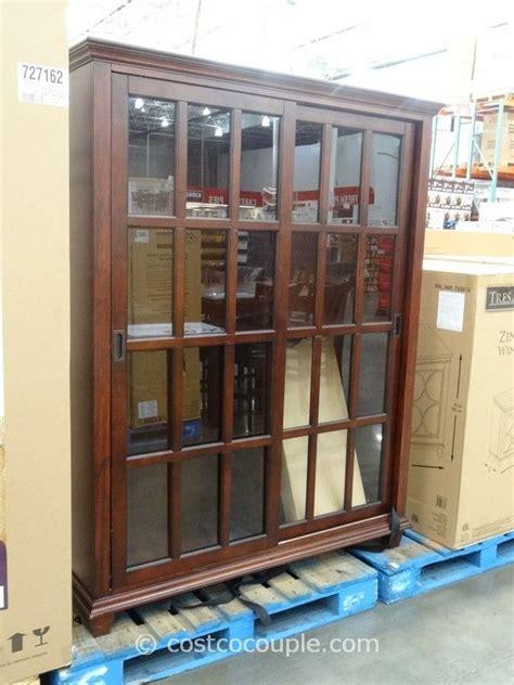 pulaski cambridge sliding door cabinet costco glass cabinet layout design minimalist