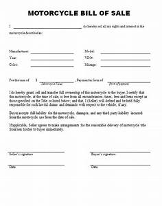 free printable bill of sale form form generic With for sale as is document