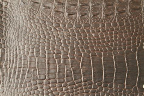 Alligator Upholstery Fabric by Alligator 3274 Choc Brown Faux Leather For Upholstery And