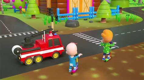 mainan mobil tayo permainan anak naik bus tayo dijalan dan menjadi polisi720p youtube