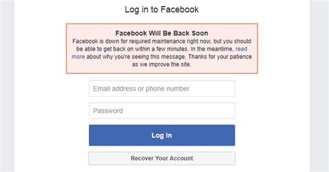 Facebook Is Down? Reports Of Users Unable To Log In