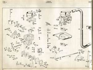Diagram Of Solex 34 Pict Carburetor  Alfa Romeo Engine