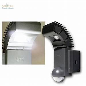 Osram Led Bewegungsmelder : led wandleuchte mit pir bewegungsmelder sensor wand lampe ip44 230v 10w 910lm ebay ~ Orissabook.com Haus und Dekorationen