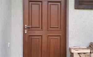 porte blindee dans porte d entree bois sur mesure porte With porte blindée bois