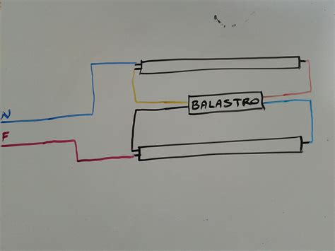 como conectar laras fluorescentes 1 4 instalaciones electricas
