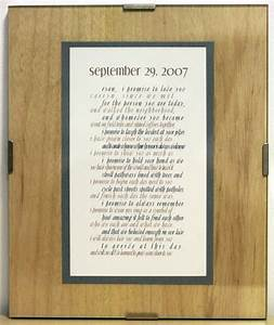 wedding vow art one year anniversary gift paper With wedding vows gifts ideas
