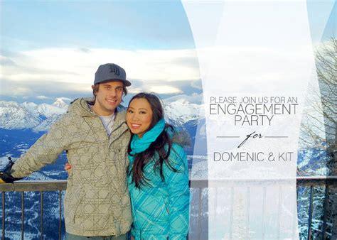 elegant engagement party invitations psd eps ai