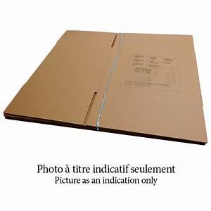 Carton Pour Verre : 3 boites de d m nagement en carton pour 12 verres brun rona ~ Edinachiropracticcenter.com Idées de Décoration
