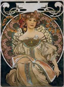 Frames For Artwork On Canvas by Poster Design Original For F Champenoi Alfons Mucha As