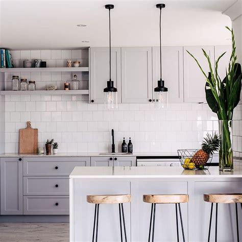 black cabinet kitchen ideas instagram analytics kitchens kitchen grey 4654