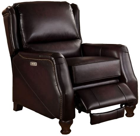 brown leather recliner davis brown leather power recliner c9893prc5853ls