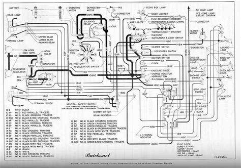 1993 Buick Roadmaster Engine Diagram Wiring Schematic by 1952 Buick Chassis Wiring Circuit Diagram Series 40
