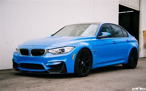 bmw m3 yas marina blue bmw m3 gets some racing upgrades