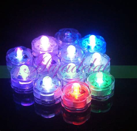 Waterproof Led Lights by Battery Operated Submersible Led Tea Lights Waterproof