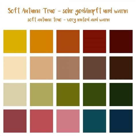 soft autumn color palette best 25 soft autumn ideas on soft autumn