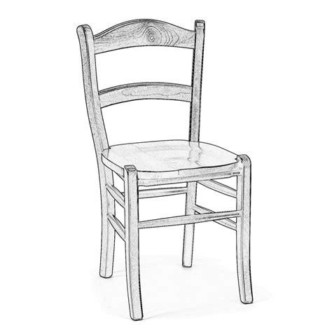 sedia legno grezzo sedia grezza in legno marocca arredas 236