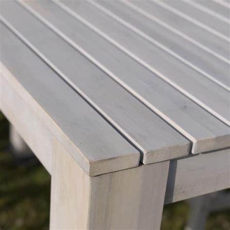 Weiße Lasur Für Holz by Bar Tisch Riva Exotan 174 180x65cm Weiss Lasur Akazie Fsc