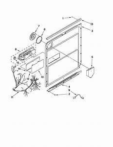 Inner Door Parts Diagram  U0026 Parts List For Model