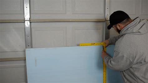 installing garage door insulation 187 how to insulate a garage door ep30