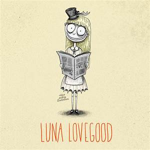 luna lovegood drawing | Tumblr