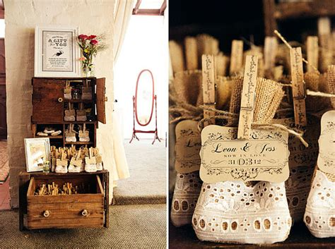 Lace Bags Clipped With A Message Are Perfect For A Vintage
