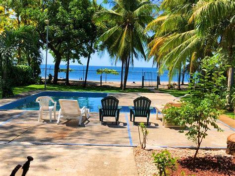 beach front house playa hermosa guanacaste  terrace