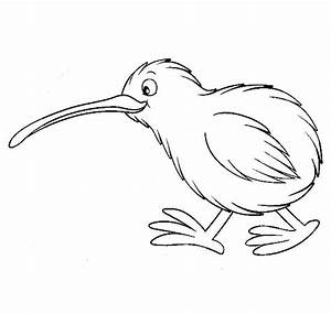 Kiwi Animal Coloring Pages - t8ls com