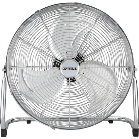 Home Depot High Velocity Floor Fans by Optimus 18 In Industrial Grade High Velocity Fan F4182