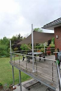 Voile Pour Terrasse : 30 best images about voile d 39 ombrage on pinterest un ~ Premium-room.com Idées de Décoration