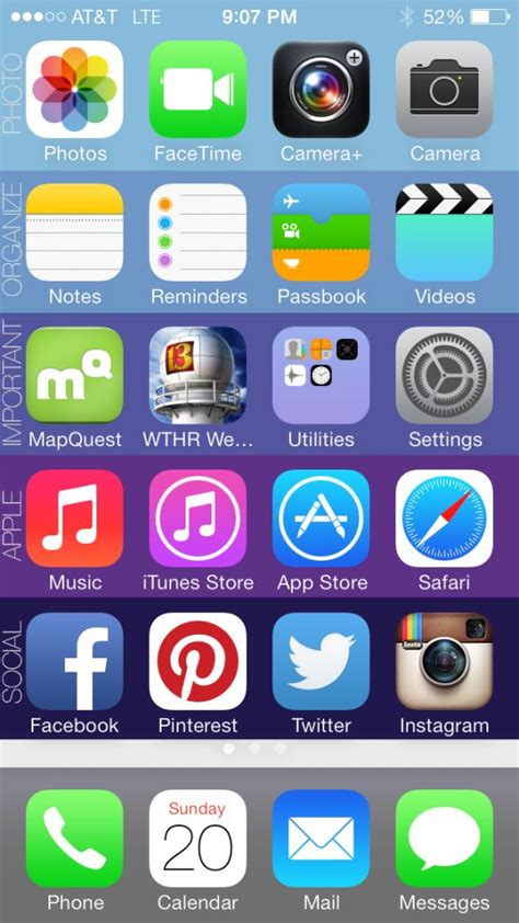 to organize iphone apps organize your iphone in 5 mintues this is awesome best