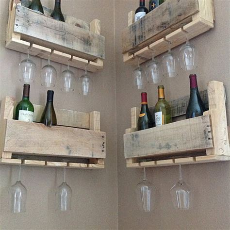 buy reclaimed wood wine rack small  shipping