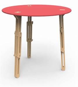 Table Ronde Haute : table modulable ronde tables tables hautes ~ Teatrodelosmanantiales.com Idées de Décoration