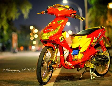 Style Modifikasi by 50 Gambar Modifikasi Honda Beat Thailook Style 2017
