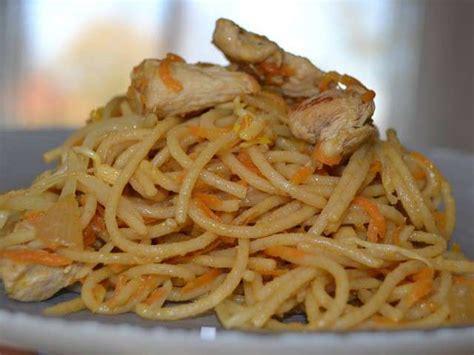 recettes de cuisine en vid駮s recettes de spaghetti et poulet