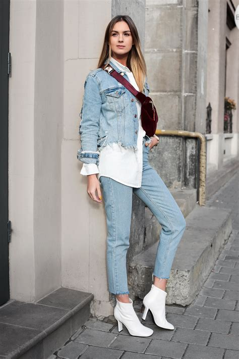 3 ways to style white ankle boots u2013 Fashion Agony   Daily outfits fashion trends and ...