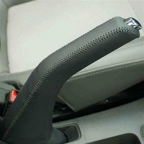 Angeno Cruze Car Leather Hand Joint Handbrake Grips Act
